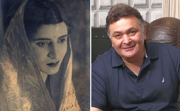 Rishi Kapoor tweets photo of Pran disguised as woman