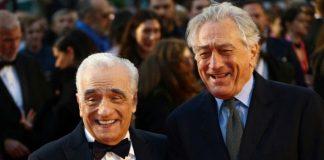 Robert De Niro pays tribute to Martin Scorsese
