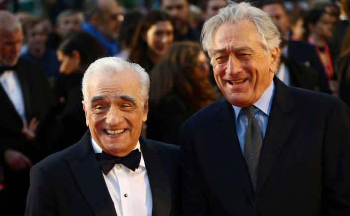 The Irishman Star Robert De Niro Pays Tribute To Legendary Filmmaker Martin Scorsese