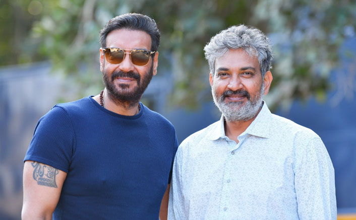 RRR: Ajay Devgn Joins S.S.Rajamouli On The Sets Of Upcoming Big Film & Kickstarts Shooting