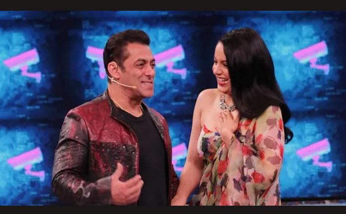 Bigg Boss 13: Salman Khan Scares Off Kangana Ranaut, Both Of Them Cry To Complete The 'Panga' Challenge