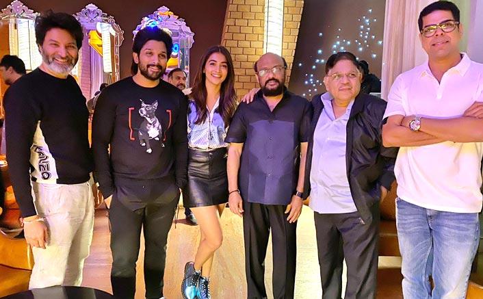 Sankranthi Come Early For Ala Vaikunthapurramloo Team, Allu Arjun & Pooja Hegde Celebrate Success Of The Film