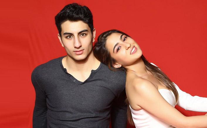 Sara Ali Khan, brother Ibrahim give sibling goals