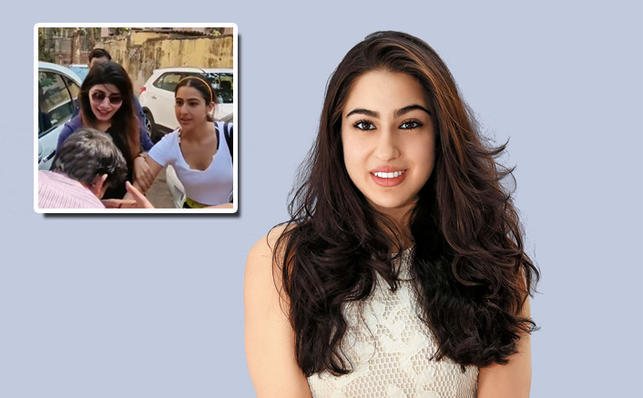 Sara Ali Khan Gets A Kiss On Her Hand And It Was Not Her Prince Charming
