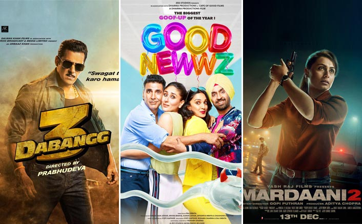 Screen Count Battle: Good Newwz Clearly Dominates Over Dabangg 3; Mardaani 2 Bags Impressive Numbers