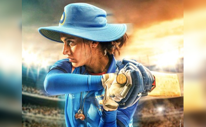 Shabaash Mithali First Poster: Taapsee Pannu With Rage To Win In Her Eyes Has Embodied Mithali Raj Completely