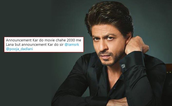 Shah Rukh Khan Fans Go Berserk, Trend #SRKAnnounceYourNext Post Actor Remains Silent On His Next