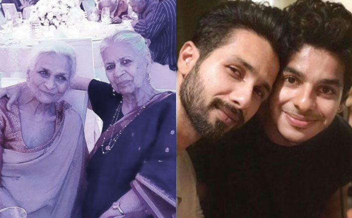 Shahid Kapoor & Ishaan Khatter's Grandmother Passes Away; The Khaali Peeli Actor Pens Down A Heartfelt Note