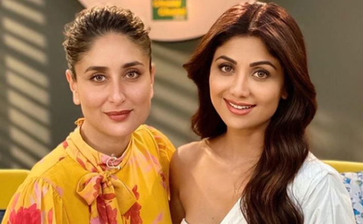SHILPA SHETTY KUNDRA SHARES HER FITNESS MANTRA WITH KAREENA KAPOOR KHAN ON 104.8 ISHQ'S SHOW 'WHAT WOMEN WANT 2'