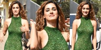 Siren in shimmer green! Disha Patani looks smoking hot at the trailer launch of her next 'Malang'