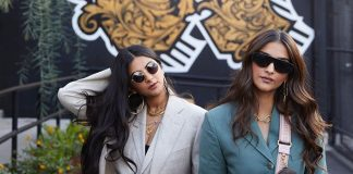 Sonam and Rhea Kapoor promote the colours of Los Angeles