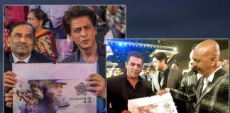 SRK, Salman launch calendar of the real 'Dabanggs'