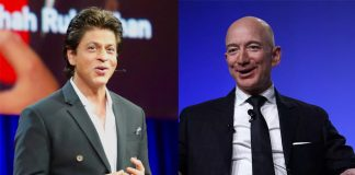 SRK says he's missing Jeff Bezos' 'uninhibited laughter'