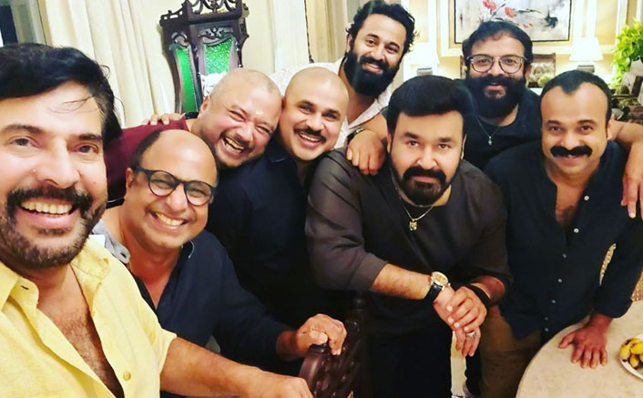 Mammootty's Selfie With Mohanlal & Other Mollywood Biggies Post Dinner Meet Goes Viral
