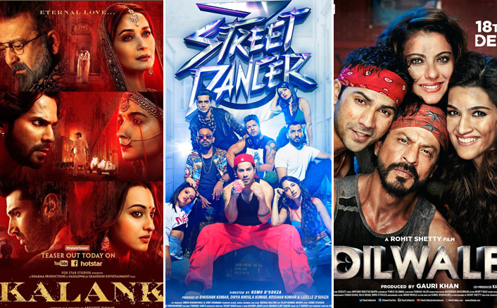 Box Office: Street Dancer 3D Vs Week 1 Of  Kalank, Dilwale & Other Varun Dhawan Films, Where Does It Stands?