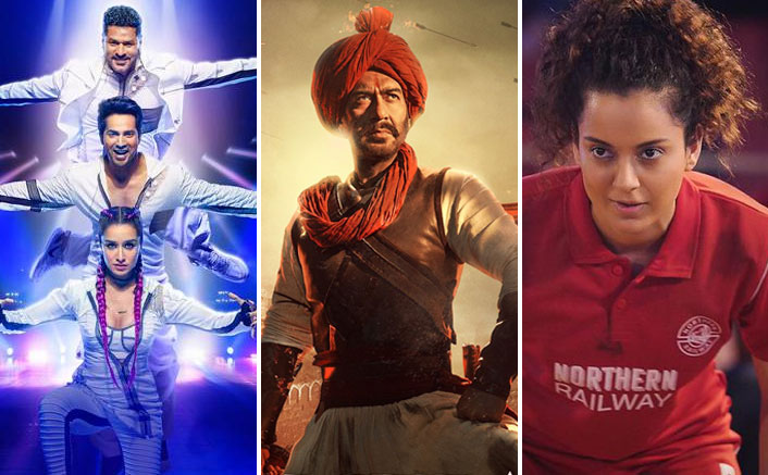 Street Dancer 3D Hits 3000 Screen Count Mark; Tanhaji Retains An Impressive Number
