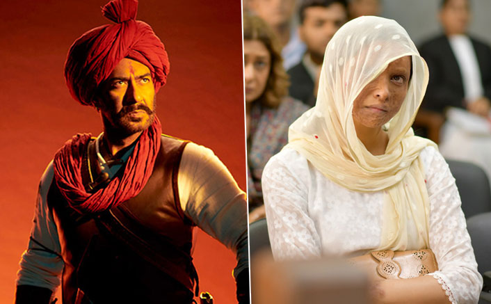 It's A War Between Deepika Padukone's Chhapaak & Ajay Devgn's Tanjahi: The Unsung Warrior But NOT At The Box Office