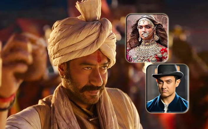 Tanhaji Box Office: Ajay Devgn's Starrer Records 8th Highest Week 2 In HISTORY! Beats Padmaavat & Dhoom 3