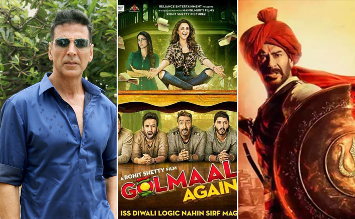 Tanhaji Box Office: Becomes Ajay Devgn's Biggest Movie Ever By Beating Golmaal Again; Crosses Akshay Kumar's Highest Grosser Too