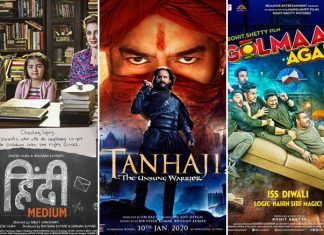 Tanhaji Box Office (Worldwide): Takes Down Hindi Medium, Inches Away From Ajay Devgn's Highest Grosser Golmaal Again