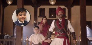 'Tanhaji...' child actor on 'quiet' Ajay, 'chatty' Kajol