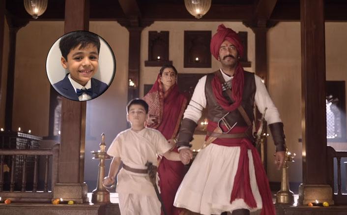 """Tanhaji: The Unsung Warrior's Child Actor Arush Nand: """"Ajay Devgn Sir Was Always Quiet & Kajol Ma'am Always Chatty"""""""