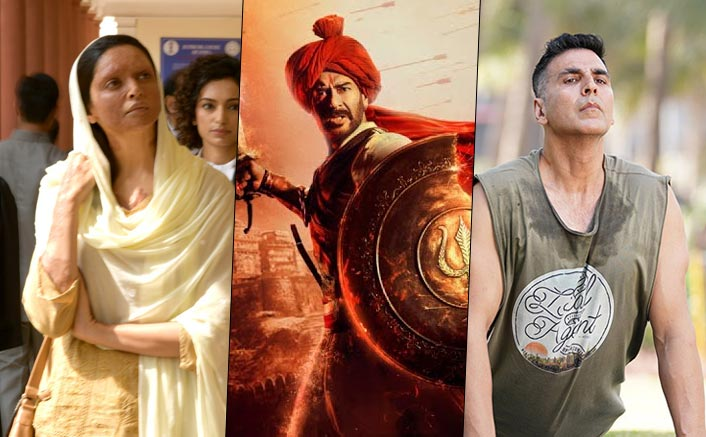 Tanhaji DOMINATES Chhapaak In Screen Count Battle Of Week 2; Good Newwz Retains A Good Number