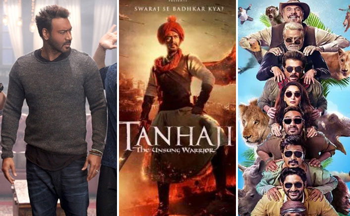 Tanhaji: The Unsung Warrior Box Office: 15.10 Crores VS Day 1 Of Ajay Devgn's Golmaal Again, Total Dhamaal & Others