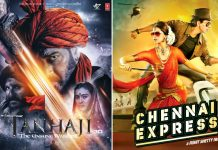 Tanhaji: The Unsung Warrior Box Office: Surpasses Shah Rukh Khan's Chennai Express In 18 Days