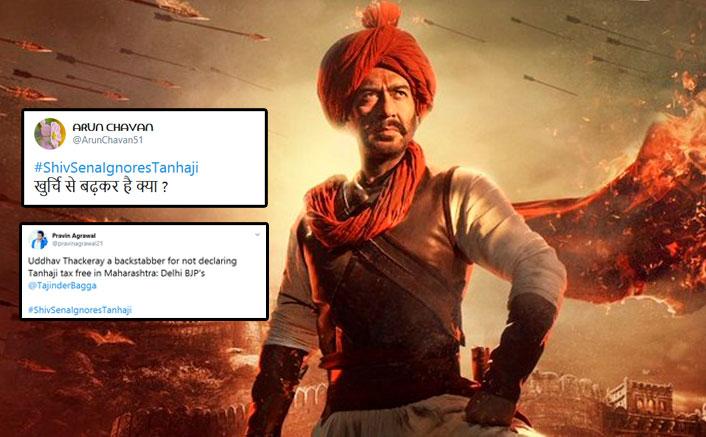Tanhaji: The Unsung Warrior: With #ShivsenaIgnoresTanhaji, Netizens Take A Dig At Uddhav Thackeray Led Maharashtra Government
