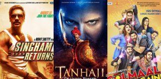 Tanhaji: The Unsung Warrior's Day 1 VS Top 10 Openers Of Ajay Devgn, Where Will It Stand?