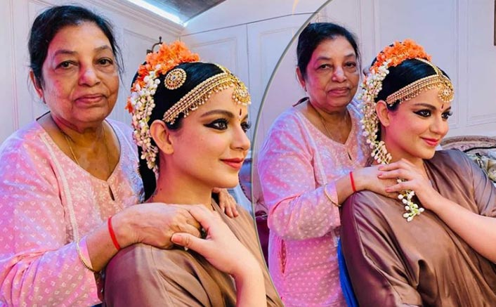 Thalaivi: Kangana Ranaut Wishes Hair Stylist Maria Sharma For Completing 5 Decades In Industry; Also Unveils Her 'Classical Dancer' Look