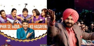 The Kapil Sharma Show: Navjot Singh Sidhu Is Back For REAL! Watch The Video