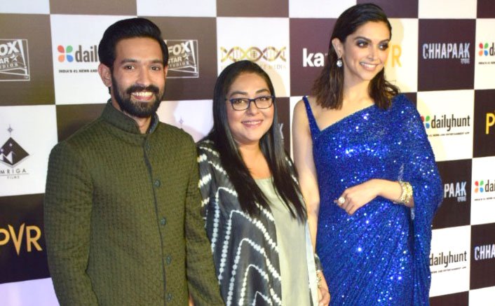 The special screening of Chhapaak was a starry affair indeed saw the who's who of Bollywood, see pics