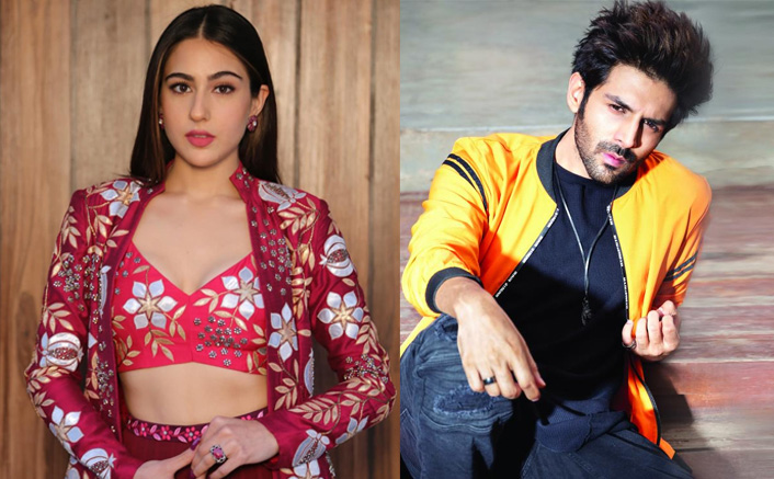 OMG! Kartik Aaryan Hugging & Giving A Forehead Kiss To Sara Ali Khan Is Too Cute To Handle