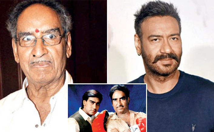 #ThrowbackThursday: Visual Of Ajay Devgn's Father Veeru Devgn Choreographing His Action Sequences Is PURE GOLD!