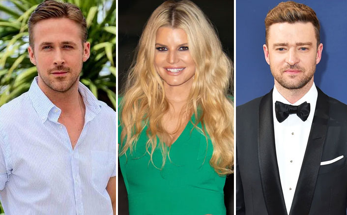 WHAT! Justin Timberlake & Ryan Gosling Had A Bet On Who Would Kiss Jessica Simpson First?
