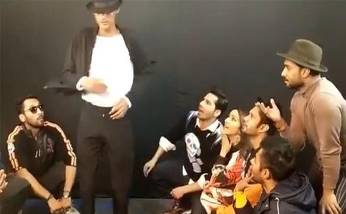 Varun, Shraddha shake a leg with TikTok sensation Baba Jackson