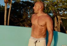Vin Diesel goes shirtless to flaunt beef on the beach
