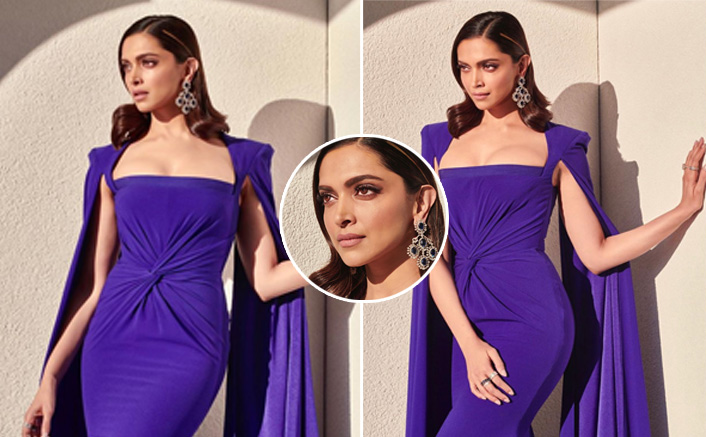 Want To Impress Your Bae This Valentine's Day? Opt For Deepika Padukone's Sculpted Purple Alex Perry Dress