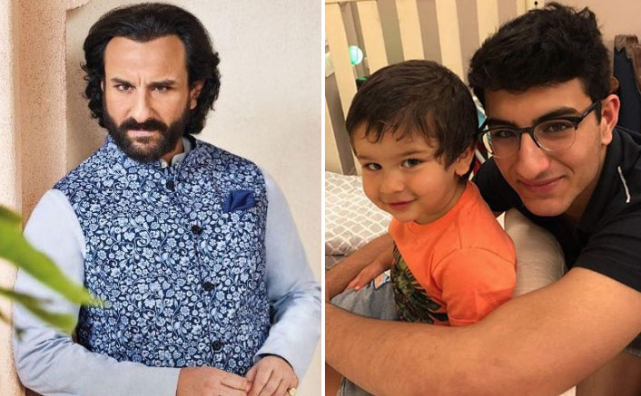 WHAT! Saif Ali Khan Goes To The Same Club As Sons Taimur & Ibrahim
