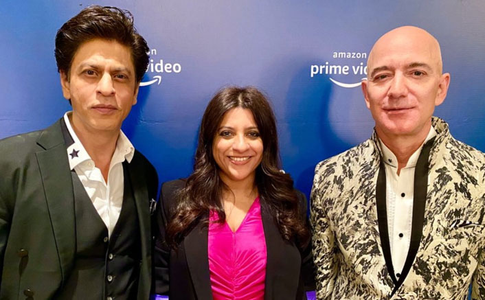 VIDEO: Shah Rukh Khan Teaches Jeff Bezos To Recite Don's Dialogue