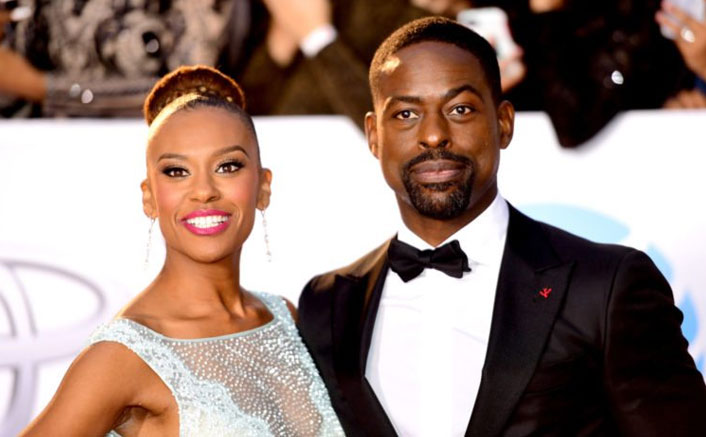 Why Sterling K. Brown, wife argue in front of kids