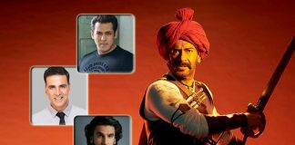 With Tanhaji & 2 Other Releases In 2020, Will Ajay Devgn Join Akshay Kumar, Salman Khan & Ranveer Singh In Coveted 500 Cr+ Club?