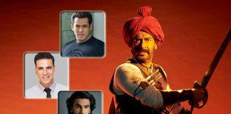 With Tanhaji & 2 Other Releases In 2020, Will Ajay Devgn Join Akshay Kumar, Salman Khan & Ranveer Singh In Coveted 500 Cr+ Club?