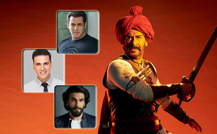 With Tanhaji & 2 Other Releases In 2020, Will Ajay Devgn Join Akshay Kumar, Salman Khan & Ranveer Singh In Coveted 500 Cr/Year Club?