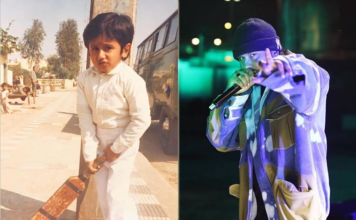 Yo Yo Honey Singh Is An Adorable Munchkin With A Bat In This Throwback Picture