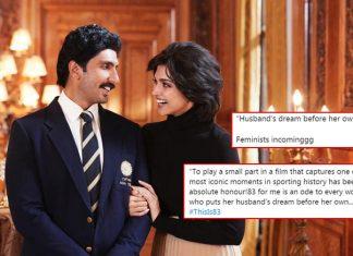 '83: Deepika Padukone Mercilessly Bashed For Her Post Introducing Her & Ranveer Singh's Character