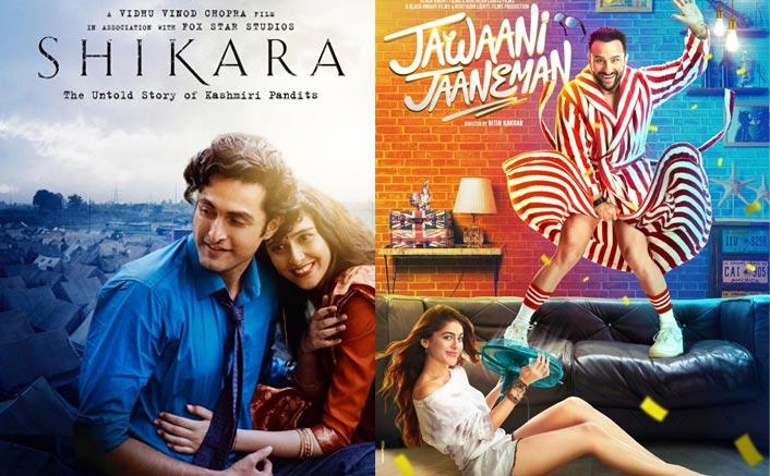 Box Office Updates: Shikara Faces A Major Drop, Jawaani Jaaneman Goes Low