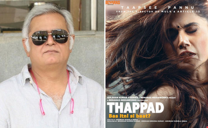 Thappad: Taapsee Pannu Starrer Film To Have Its Special Screening In Jaipur On Feb 21, Hansal Mehta To Host